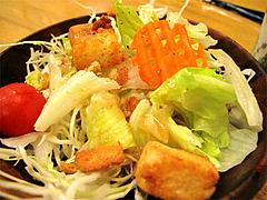 料理1:サラダ@串焼き・釜飯の俵・久留米