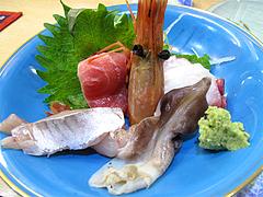 料理:刺身盛り合わせ@鮨あつ賀・渡辺通・福岡