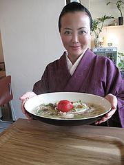8ランチ:キッチングリーン特製ヌードル・鶏肉とトマト650円@kitchen green(キッチングリーン)・別府