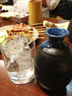 13焼酎ロック@酒房・武蔵