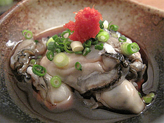 料理:酢がき580円@博多まかない屋