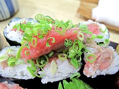 料理:まぐろづくしの寿司4@ランチ・鮨あつ賀