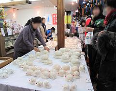 鏡餅@年末の柳橋連合市場・福岡2010