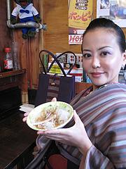 店内:カウンター@まんぼ亭・赤坂門市場