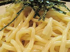料理:つけ麺の麺@博多新風・福岡市中央区高宮