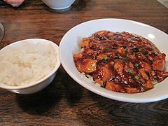 11ランチ:麻婆豆腐麺500円+ご飯50円@チャイナダイニング劉(りゅう)・中華・薬院
