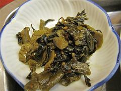ランチ:高菜の漬物@中華・福楼飯店・港