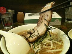 料理:もやしラーメンチャーシュー@魚介豚骨醤油いっき・薬院