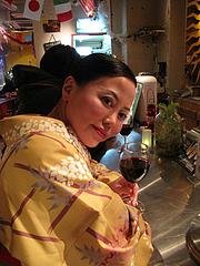 6店内:一人酒@チリ・ダイニング・博多区上牟