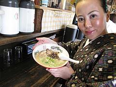 12ランチ:ケンゾーラーメン480円@屋台KENZO Cafe(ケンゾーカフェ)・きたなトラン