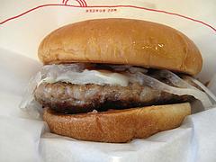 とびきりハンバーグサンド「チーズ」@モスバーガー博多中洲店