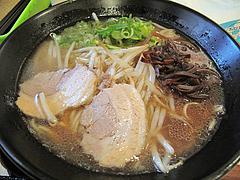 料理:醤油鶏豚骨てんきらーめん+もやし100円@麺や・てんき・平尾