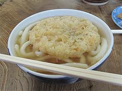 料理:ごぼう天うどんアップ@みやけうどん・呉服町