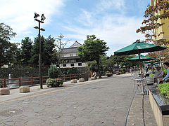外観:リバーウォーク北九州のテーブル席@SUNDOG(サンドッグ)・西小倉