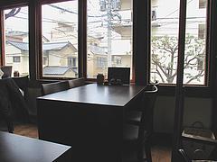 店内:2階テーブル席@博多煮込み・うみくま家・大手門