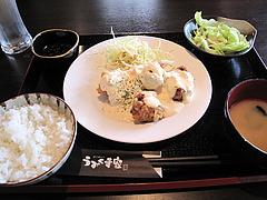 料理:チキン南蛮定食580円@博多煮込み・うみくま家・大手門