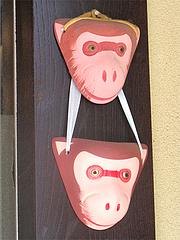 猿田彦神社・初庚申祭・猿のお面@ごはんや・たね田・平尾