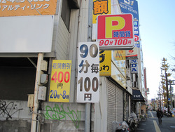 13駐車場@博多徳兵衛