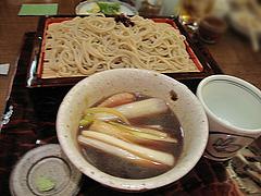 13そば料理:鴨せいろ1400円@やぶ金・蕎麦・大名