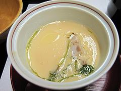 14宴会:蒸物 茶碗蒸し@観山荘別館・小倉・料亭