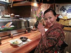 1店内:カウンター@食事処きむら(木村)・中洲・和食
