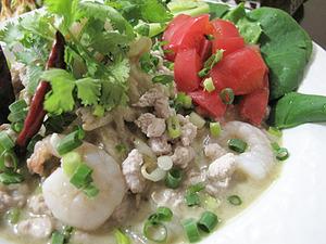6グリーンカレー冷麺表@ラーンガンエーン