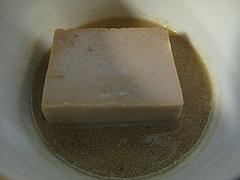 料理:落花生豆腐の胡麻ダレ@料亭きくしげ・西中洲