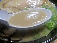 料理:いけ麺スープ@いけ麺・馬出