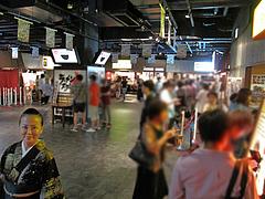 店内:ラースタ平日夏休み@麺家いろは・富山ブラック・キャナルシティ・ラーメンスタジアム