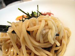 ランチ:季節のつけ麺のめん@ラーメン・博多五行・今泉