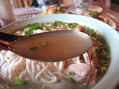 料理:タイ式ラーメンスープ@カオサン・タイ料理・薬院