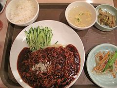 料理:ジャージャー麺セット680円@点心楼・台北・清川