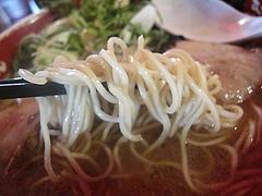 ランチ:ラーメン麺カタ@元祖長寿らーめん・城南区堤