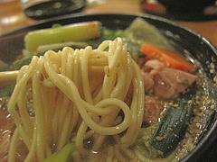 8ランチ:元祖水炊きラーメン麺@居酒屋・井戸端・博多川端商店街