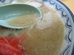 料理:ラーメンスープ@赤のれん節ちゃんラーメン住吉店