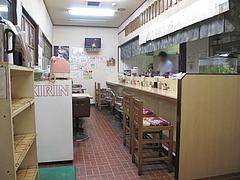 6店内:カウンター・テーブル@ラーメン・天広軒・春日原駅