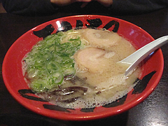 11ランチ:ラーメン500円@ラーメンTAIZO(タイゾー)那珂川店