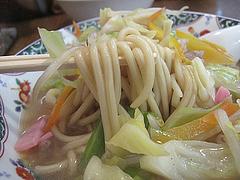 6ランチ:チャンポン麺@花びし・西中洲