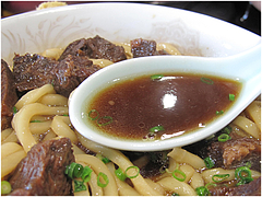 料理:小倉名物肉うどんスメ@白頭山・福岡店