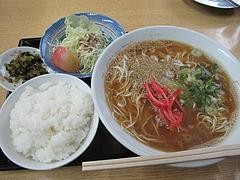 ランチ:ラーメン定食600円@長尾亭ラーメン