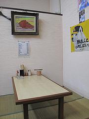 7店内:小上がり@ラーメン・天広軒・春日原駅