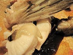 料理:アラの酒蒸しアップ2@たらふくまんま・春吉