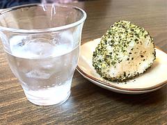 ランチ:レディースセットのおにぎり@ラーメン・博多麺屋台・た組