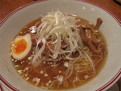 料理:ポークの角煮汁そば@張子房・福岡