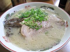 料理:らーめん500円@博多めんとく屋(麺篤屋)