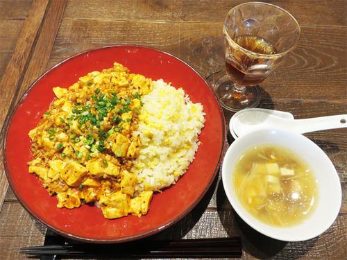 10麻婆豆腐炒飯850円