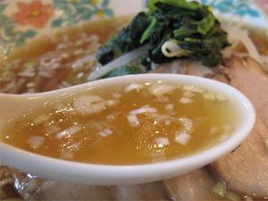 17チャーシューメンスープ@中華菜館・五福
