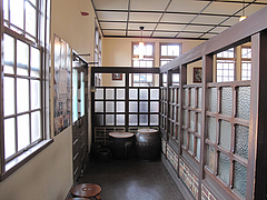 店内:入り口@カフェ・エルグレコ・倉敷