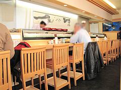 店内:カウンター席@寿し赤坂・福岡
