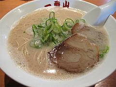 料理:博多元味白500円@博多らーめん一番山・大橋